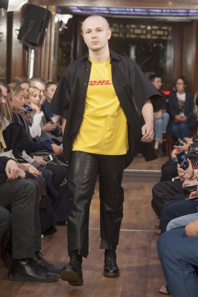 Camiseta DHL de Vetements